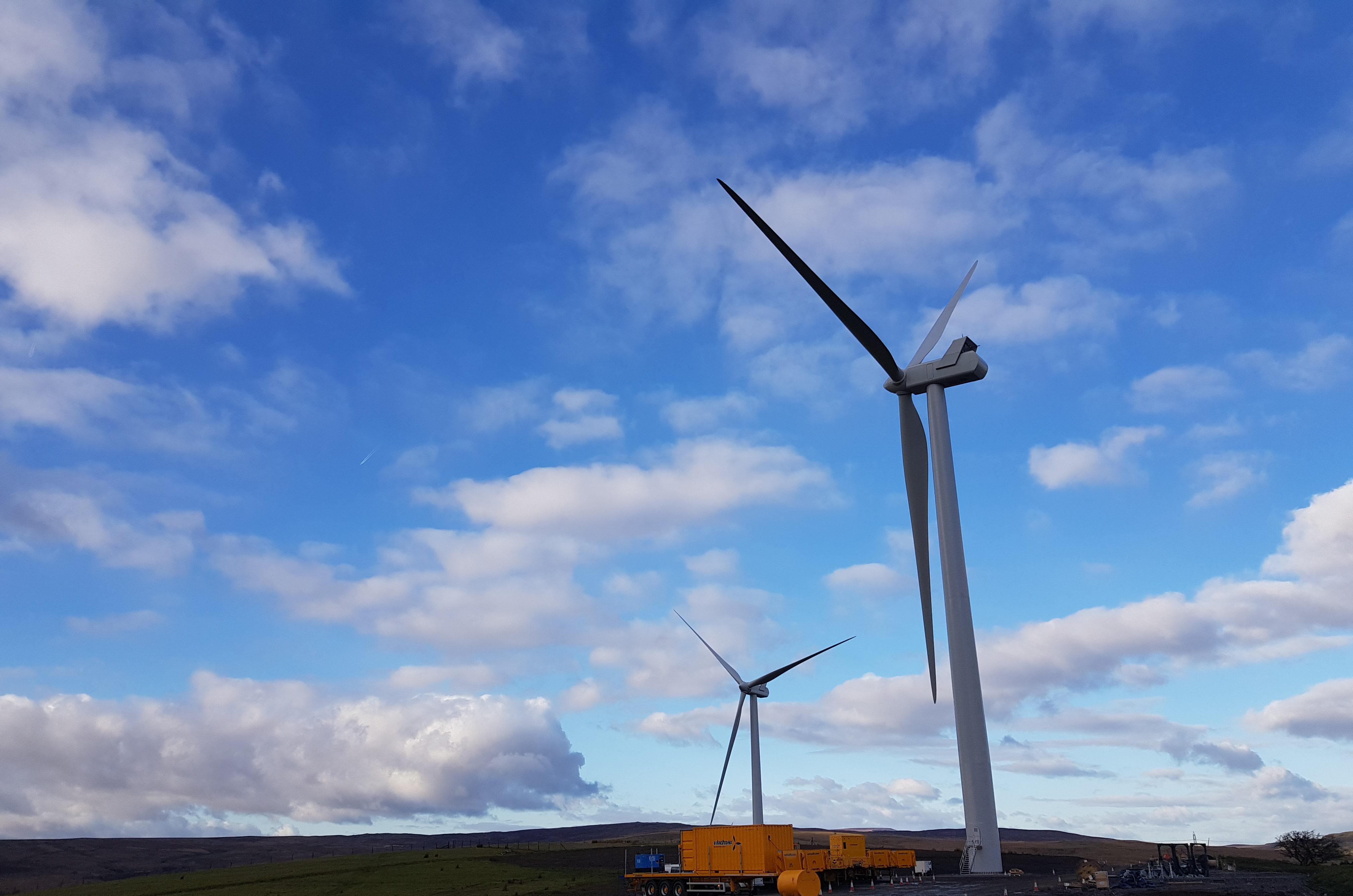 Windfarm Energisation
