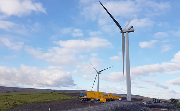 Windfarm Energisation